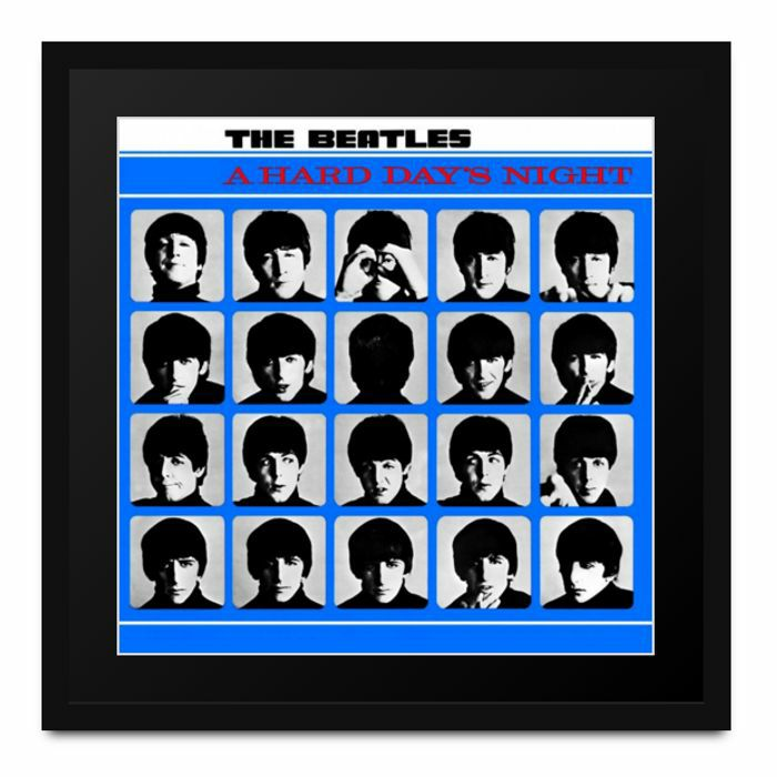 BEATLES, The - Athena Album Art: The Beatles - A Hard Days Night