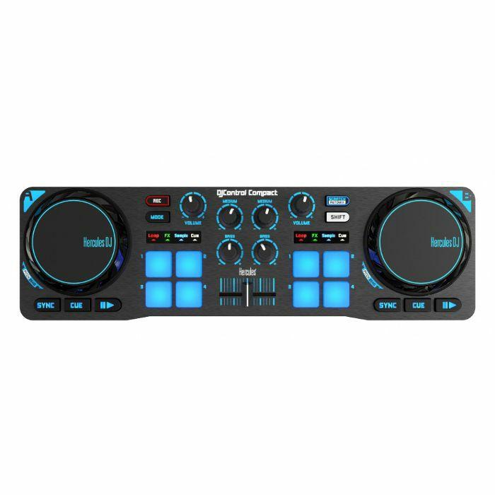 Hercules DJ Control Compact DJ Controller With DJuced DJ Software