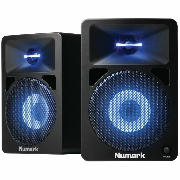 NUMARK - Numark NWave 580L Powered Desktop DJ Monitors