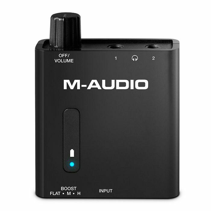 M AUDIO - M Audio Bass Traveler Portable Headphone Amplifier