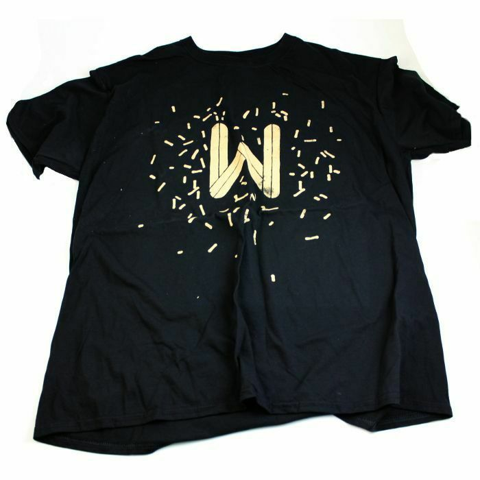 WOLFSKUIL - Wolfskuil Logo T-Shirt (large, sand logo on black)