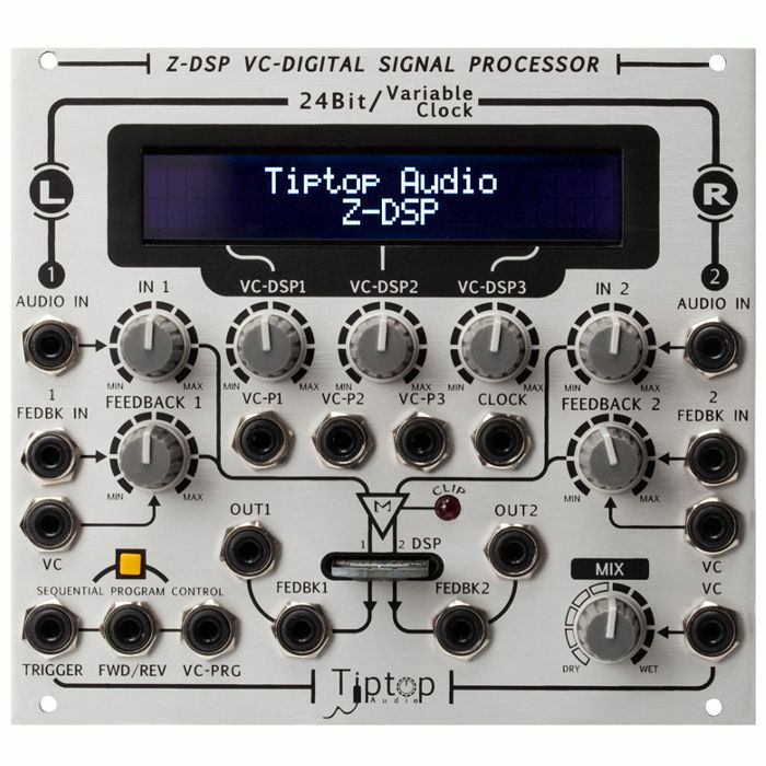 TIPTOP AUDIO - Tiptop Audio ZDSP Voltage Controlled Digital Signal Processor Module