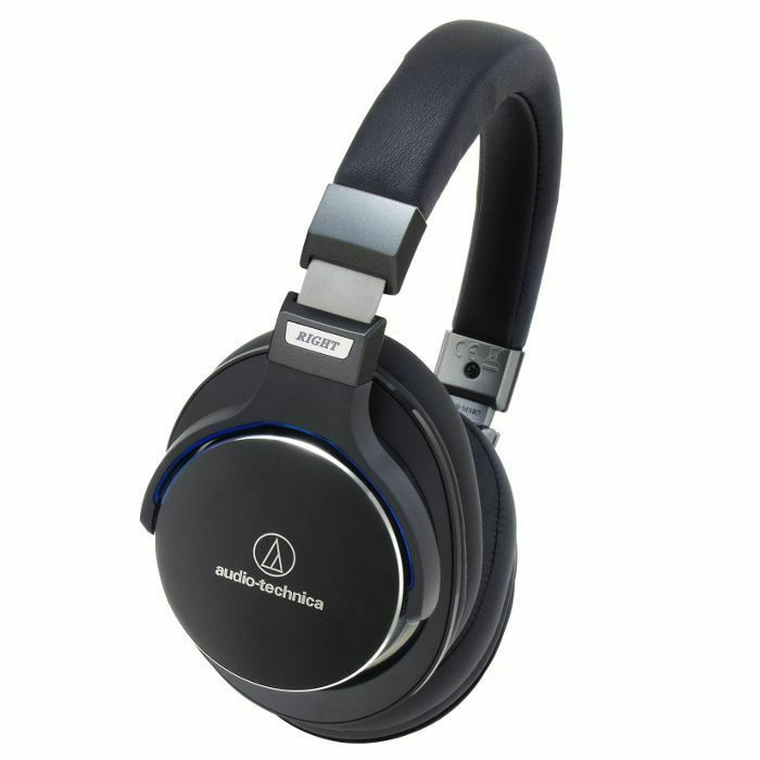 AUDIO TECHNICA - Audio Technica MSR7 Sonic Pro Over Ear High Resolution Audio Headphones (black) (B-STOCK)