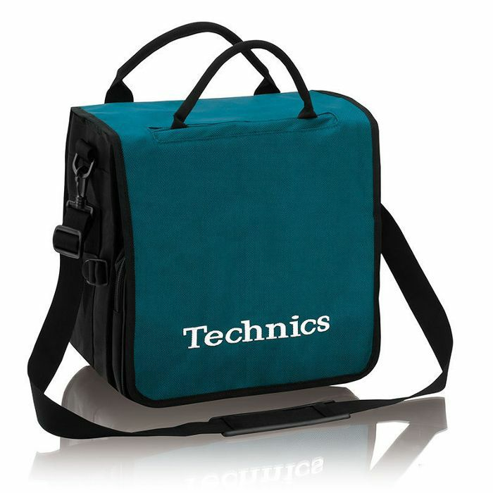 Technics Backpack 12 Inch Vinyl Record Bag Turquoise With