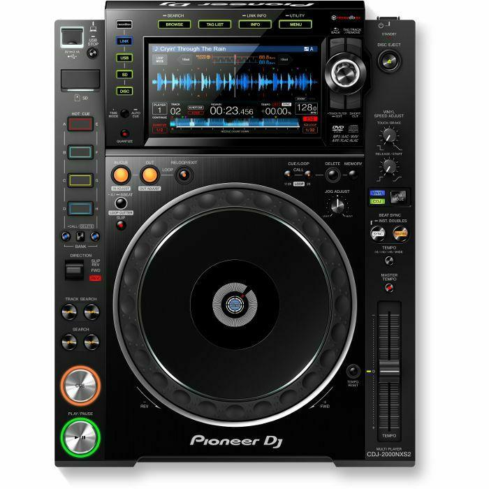 PIONEER - Pioneer CDJ-2000NXS2 Professional Multi Player (black)