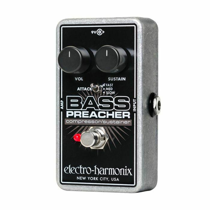 ELECTRO HARMONIX - Electro Harmonix Bass Preacher Compressor Sustainer Pedal