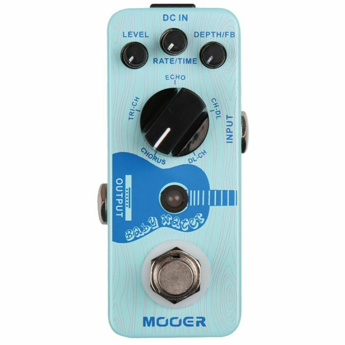MOOER - Mooer Baby Water Acoustic Guitar Delay & Chorus Pedal