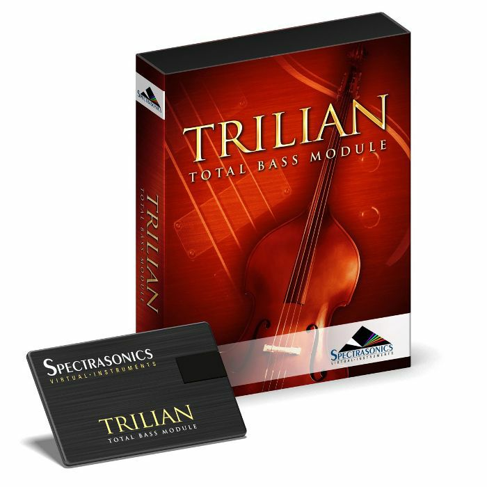 SPECTRASONICS - Spectrasonics Trilian Total Bass Module Virtual Instrument (USB)