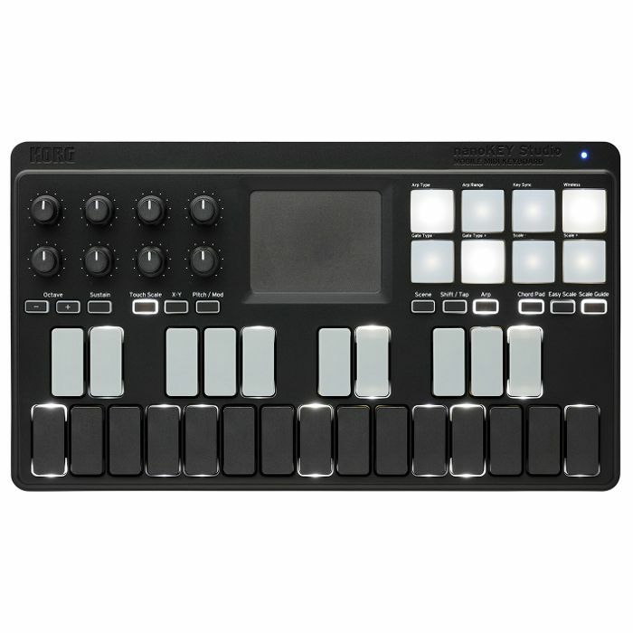 KORG - Korg NanoKEY Studio Mobile MIDI Keyboard With Korg Software Bundle (black)
