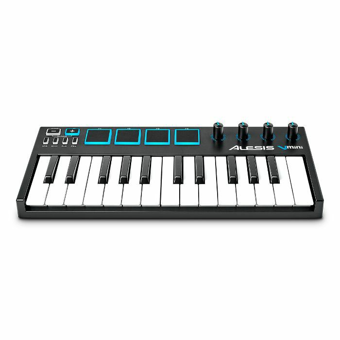 Alesis V Mini Portable 25 Key USB MIDI Controller Keyboard With Xpand!2  Software