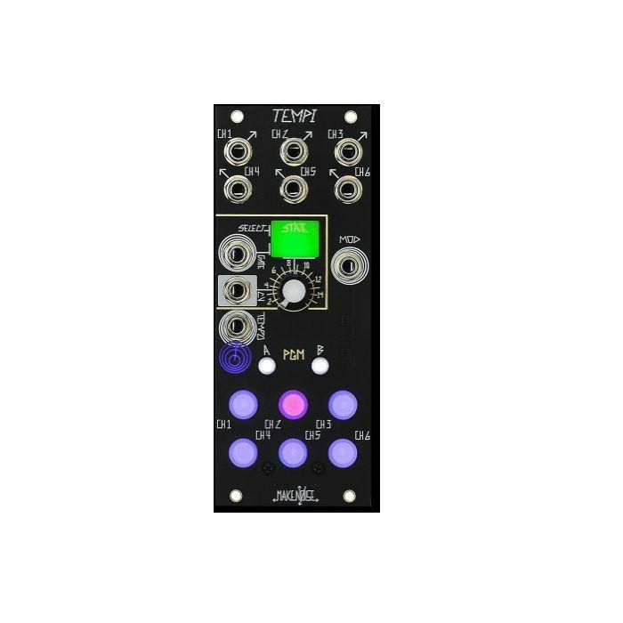 MAKE NOISE - Make Noise Tempi Polyphonic Time Shifting Clock Module