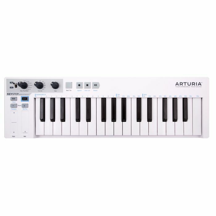 ARTURIA - Arturia KeyStep Portable USB MIDI Keyboard Controller & Sequencer