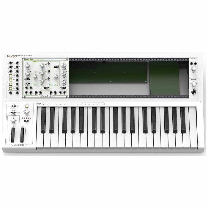 WALDORF - Waldorf KB37 Controller Keyboard & Eurorack Rig
