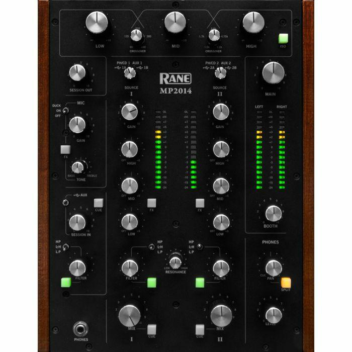 RANE - Rane MP2014 Two Channel Rotary DJ Mixer
