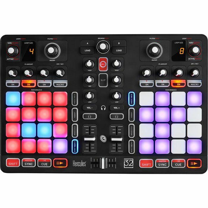 HERCULES - Hercules P32 DJ Controller With DJuced DJ Software