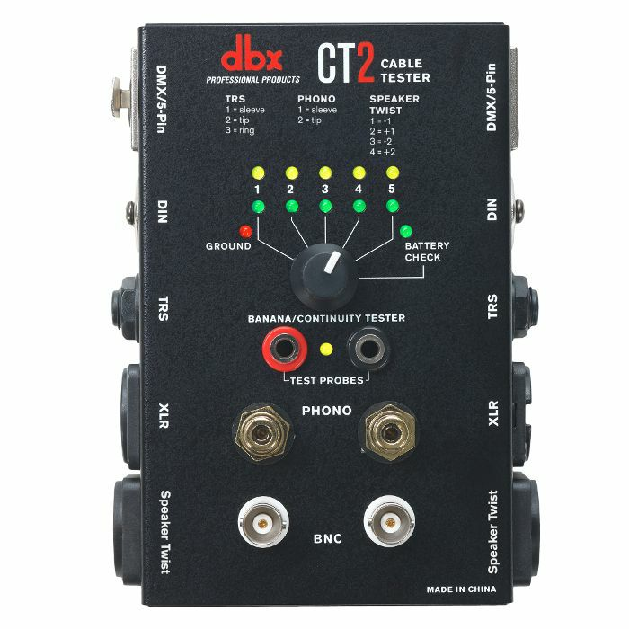 DBX - DBX CT2 Cable Tester