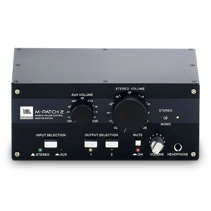 JBL - JBL M Patch 2 Stereo Controller & Switch Box