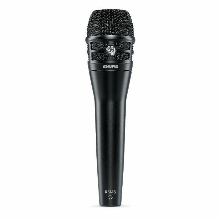 SHURE - Shure KSM8 Dualdyne Cardioid Dual Diaphragm Handheld Vocal Microphone (black)