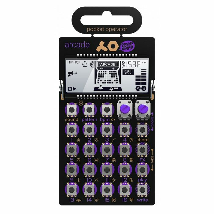TEENAGE ENGINEERING/CHEAP MONDAY - Teenage Engineering/Cheap Monday PO20 Pocket Operator Arcade Synthesizer