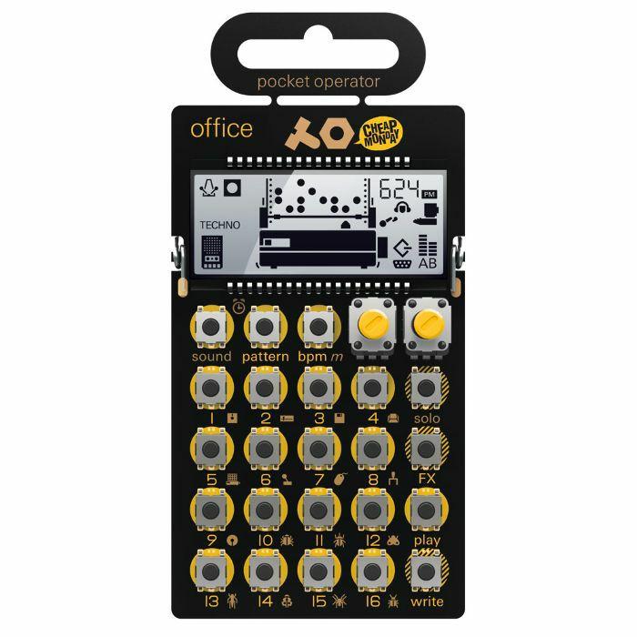 TEENAGE ENGINEERING - Teenage Engineering PO24 Pocket Operator Office Noise Percussion Drum Machine
