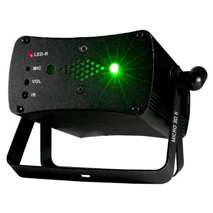 AMERICAN DJ - American DJ Micro 3D II Laser (red & green)