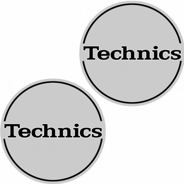 TECHNICS - Technics Outbreak Slipmats (pair, silver)
