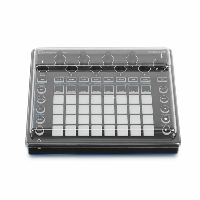 DECKSAVER - Decksaver Novation Circuit Cover (smoked/clear)