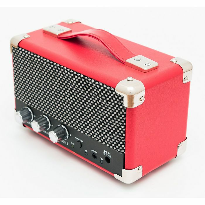 GPO - GPO Mini Westwood Rechargeable Battery Powered Bluetooth Speaker (red)