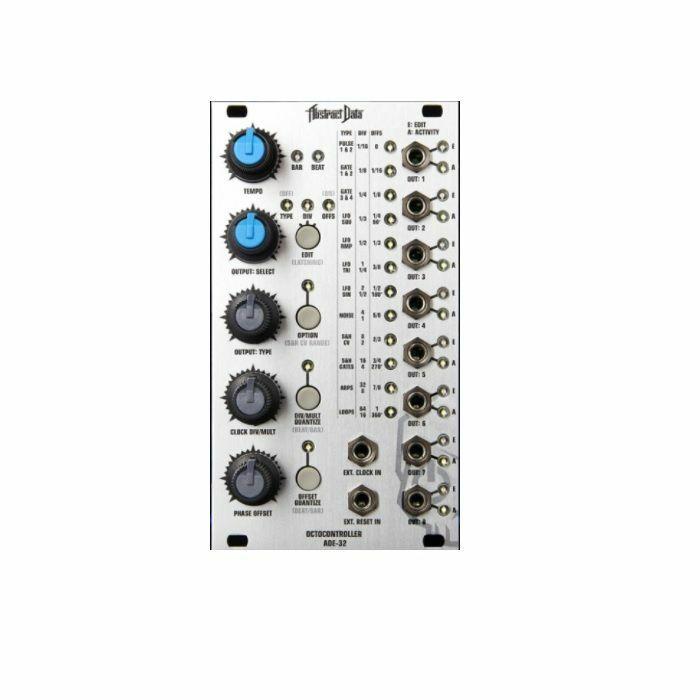 ABSTRACT DATA - Abstract Data ADE32 Octocontroller Eight Output Modular Control Panel Module