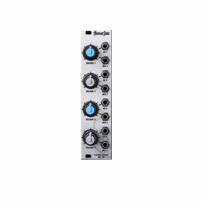 ABSTRACT DATA - Abstract Data ADE60 Four Stage Mixer & Attenuator Module