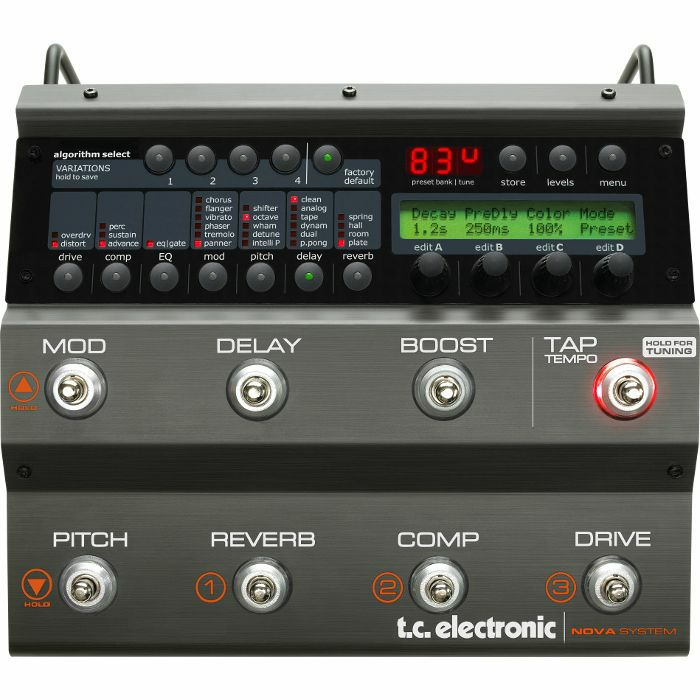 TC ELECTRONIC - TC Electronic Nova System Effects Pedal