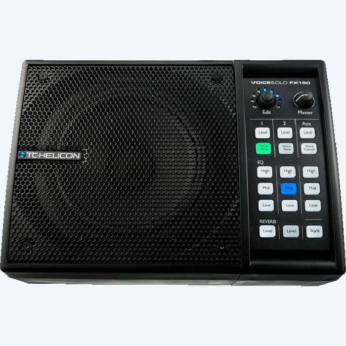 TC HELICON - TC Helicon VoiceSolo FX150 Personal PA & Vocal Processor