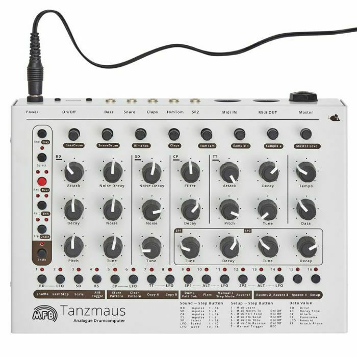 MFB - MFB Tanzmaus Analogue Drum Computer