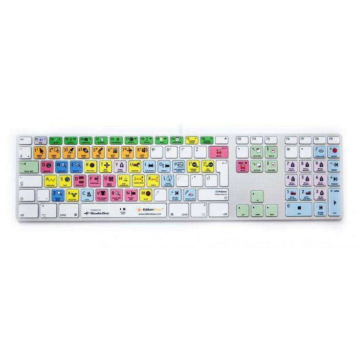 EDITORS KEYS - Editors Keys Genuine Apple Keyboard For Presonus Studio One (UK keyboard)