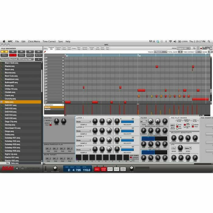 AKAI Akai MPC Studio Black Music Production Controller With