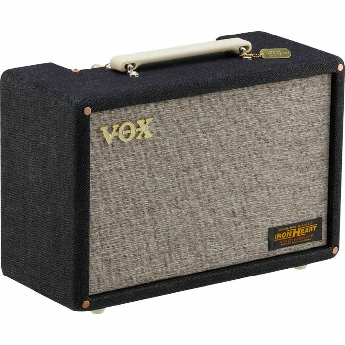 VOX - Vox Pathfinder 10 Denim Combo Solid State Guitar Amp (limited edition Iron Heart collaboration)