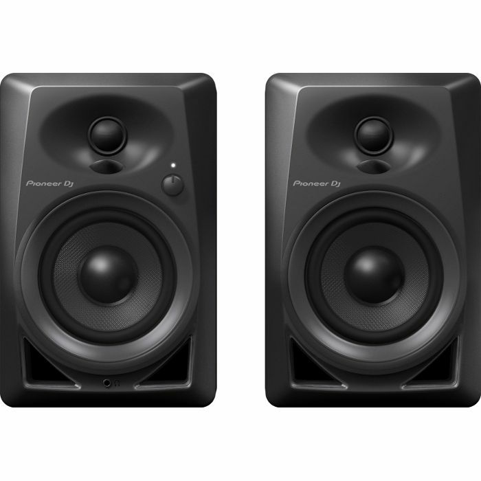 PIONEER - Pioneer DM40 Active Monitor DJ Speakers (pair, black)
