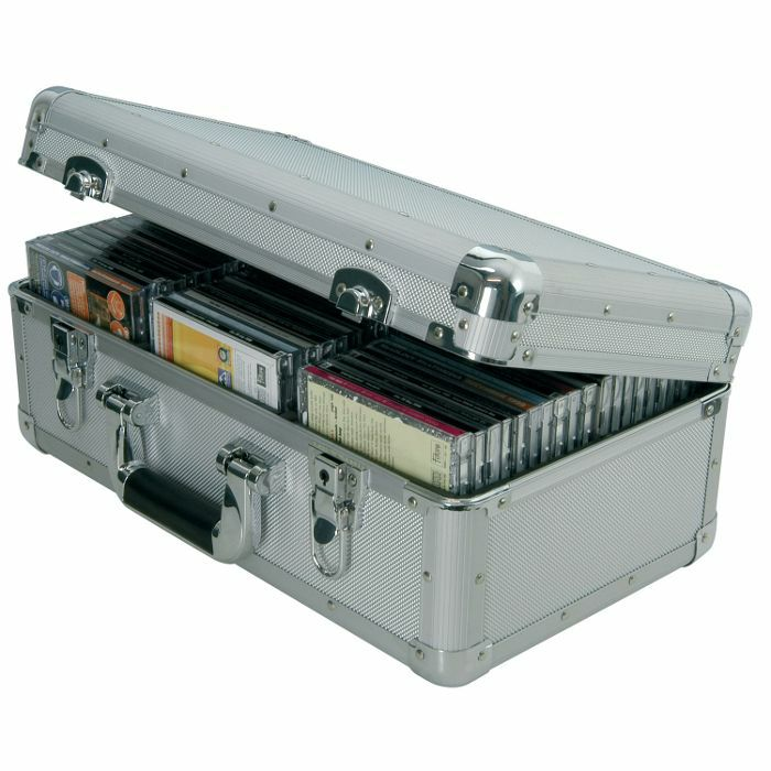 CITRONIC - Citronic CDA60 Aluminium CD Flight Case (holds 60 CDs)