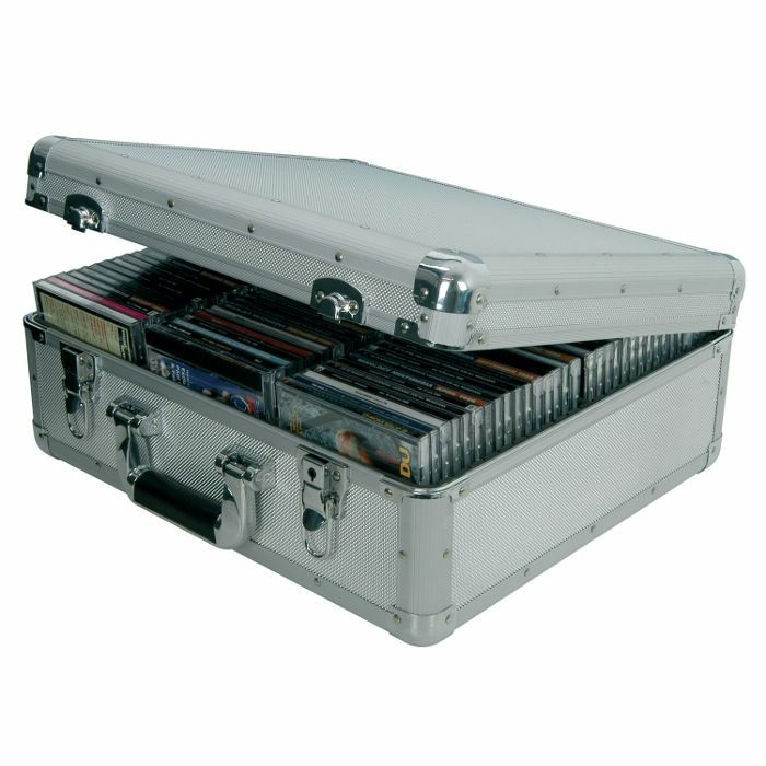CITRONIC - Citronic CDA96 Aluminium CD Flight Case (holds 96 CDs)