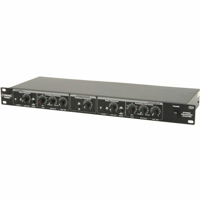 CITRONIC - Citronic CE22 Stereo Enhancer Exciter Rack Unit