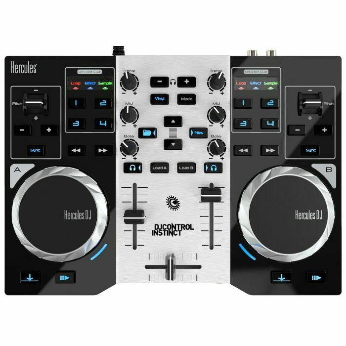 HERCULES - Hercules DJ Control Instinct S DJ Controller With DJuced 18°DJ software (B-STOCK)