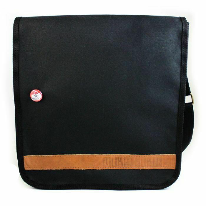 MUKATSUKU - Mukatsuku 12 Inch Vinyl Record Messenger Shoulder Bag 25 (black bag  holds 25 x 12'' records) *Juno Exclusive*