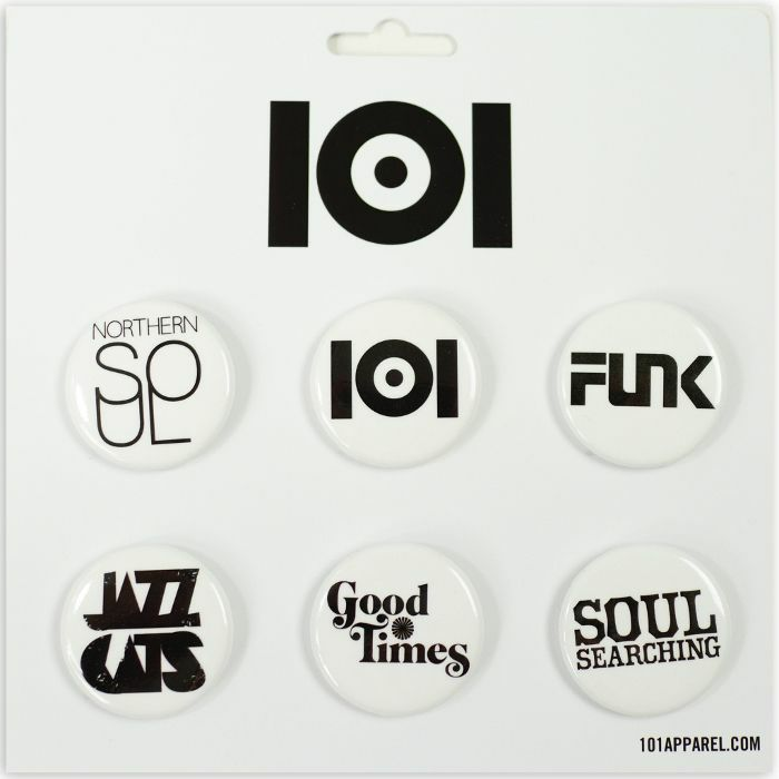 101 APPAREL - 101 Apparel Button Pin Badge Pack #1