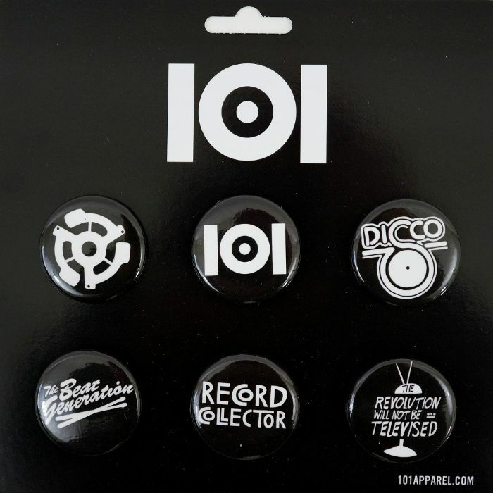 101 APPAREL - 101 Apparel Button Pin Badge Pack #2