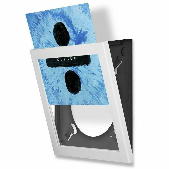 SHOW & LISTEN - Show & Listen Vinyl Record Display Frame (white)