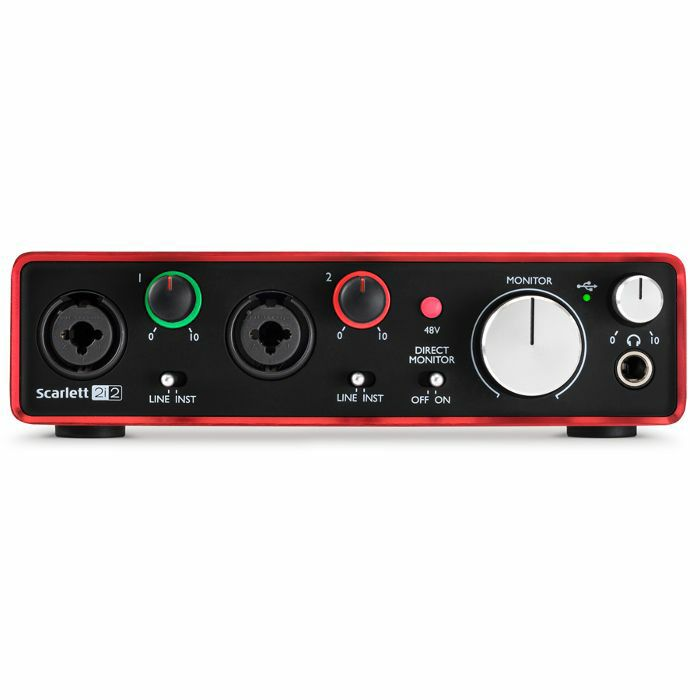 FOCUSRITE - Focusrite Scarlett 2i2 USB Audio Interface (2nd Generation)