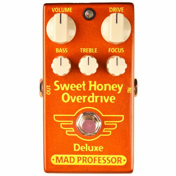 MAD PROFESSOR - Mad Professor Sweet Honey Overdrive Deluxe Effects Pedal