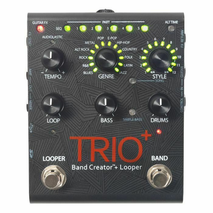 DIGITECH - Digitech Trio+ Band Creator & Looper Effect Pedal (B-STOCK)