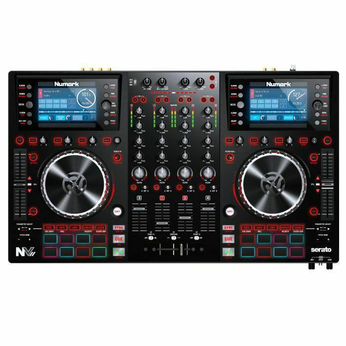 NUMARK - Numark NVII DJ Controller With Serato DJ Software