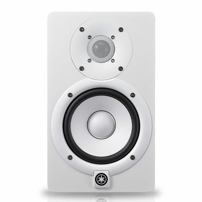YAMAHA - Yamaha HS5I Powered Studio Monitor (white, single)